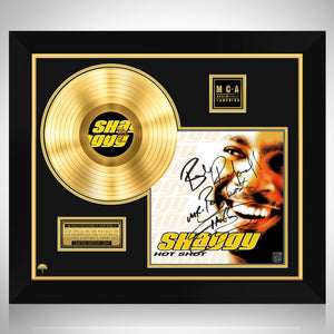 Shaggy - Hot Shot Gold LP Limited Signature Edition Studio Licensed Custom Frame