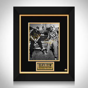 Snoop Dog & Dr. Dre Limited Signature Edition Studio Licensed Photo Custom Frame