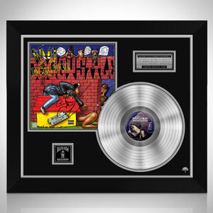 Snoop Dog Doggy Style Limited Signature Edition Studio Licensed Platinum LP Custom Frame