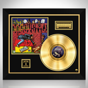 Snoop Dog Doggy Style Gold LP Limited Signature Edition Studio Licensed Custom Frame