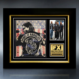 Sons of Anarchy- Limited Signature Edition Studio Licensed Script Custom Frame