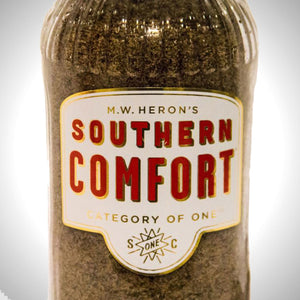 Southern Comfort Liquor Vintage Label Bottle Lamp Hand-Made in Quebec Canada
