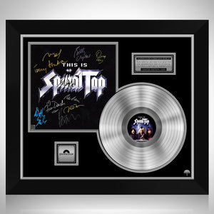 Spinal Tap - Soundtrack Platinum LP Limited Signature Edition Studio Licensed Custom Frame