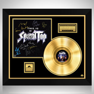 Spinal Tap - Soundtrack Gold LP Limited Signature Edition Studio Licensed Custom Frame