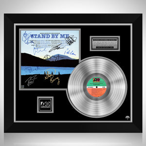 Stand By Me - Soundtrack Platinum LP Limited Signature Edition Studio Licensed Custom Frame