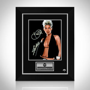 Storm- Hand-Signed Photo By Halle Berry & Stan Lee Custom Frame