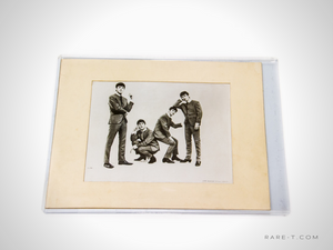 Limited Edition Vintage 1964 'THE BEATLES' Print