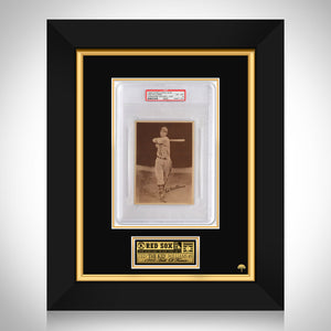 Ted Williams-1939 World Wide Gum Rookie Card Custom Frame(PSA EX-MT6) 1 of 3 PSA graded in the World