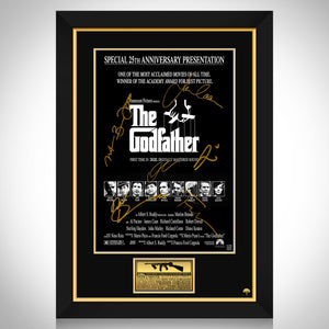 The Godfather Mini Poster Limited Signature Edition Studio Licensed Custom Frame