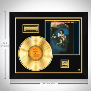 The Guess Who 'American Woman' Limited Collectors' Edition Studio Licensed Gold LP Custom Frame
