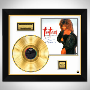 Tina Turner Break Every Rule Limited Signature Edition Studio Licensed  Custom Frame
