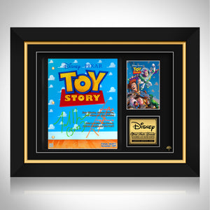 Toy Story Movie Script Limited Signature Edition Studio Licensed Custom Frame