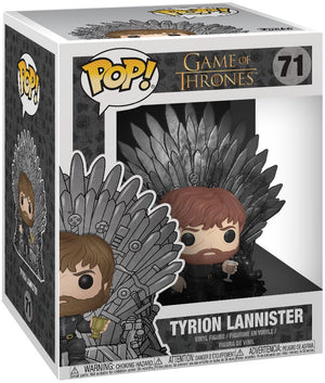 Game Of Thrones- Tyrion On Throne Funko Pop #71