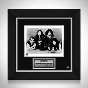 Van Halen Band Photo Limited Signature Edition Studio Licensed Custom Frame
