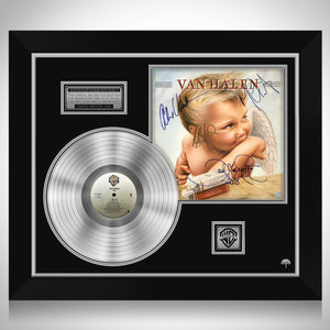 Van Halen 1984 Platinum LP Limited Signature Edition Studio Licensed Custom Frame