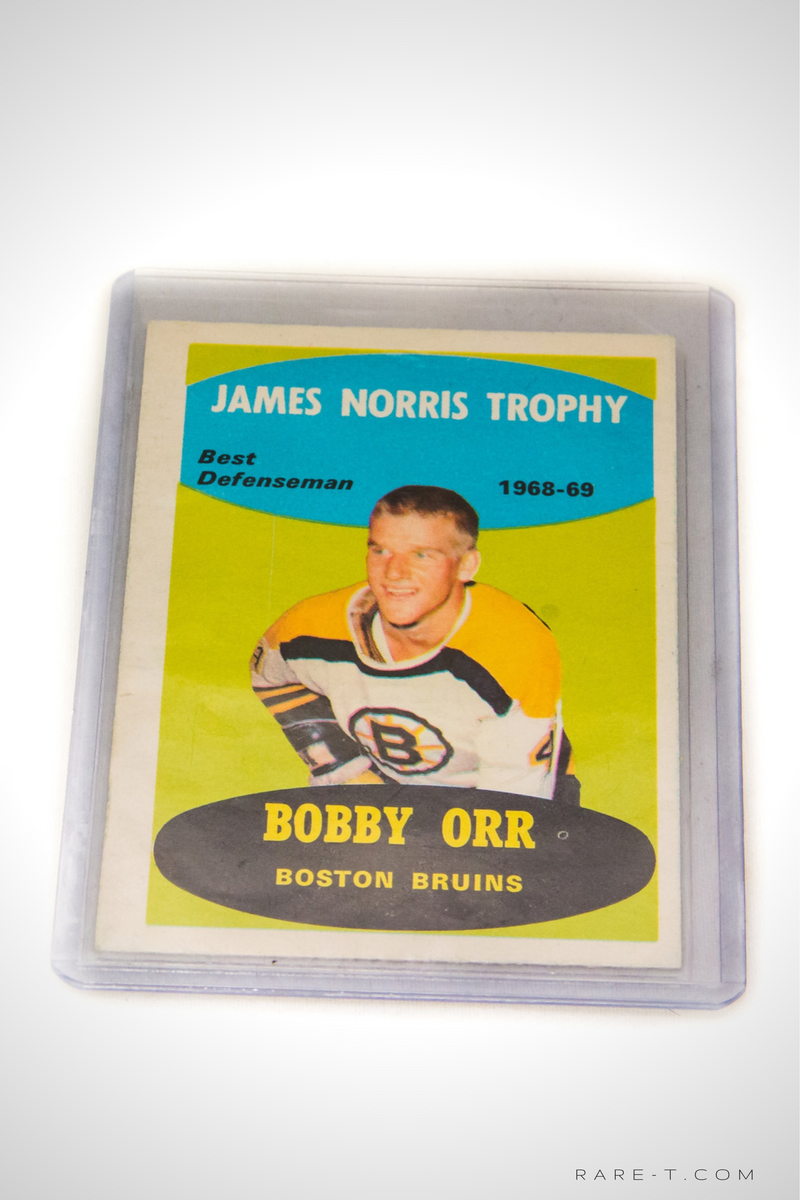1969 Hockey Card 'OPC - BOBBY ORR'