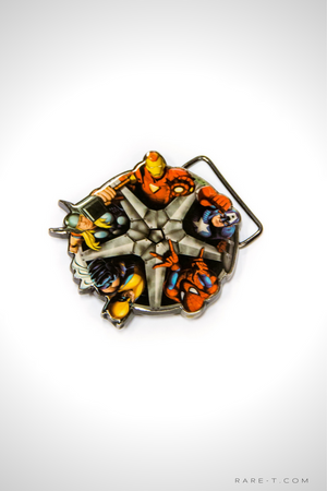 Limited Edition 'MARVEL SHIELD' Belt Buckle