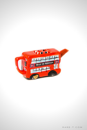 Vintage 'GREAT BRITISH POTTERY - DOUBLE DECKER BUS' - Mini Teapot
