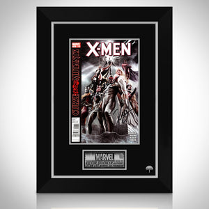 'X-MEN Curse of the Mutants #1- Hand-Signed Comic Book by Victor Gischler & Stan Lee Custom Frame