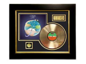 LIMITED EDITION GOLD LP 'YES - FRAGILE' CUSTOM FRAME