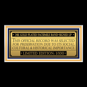 YES - Going For The One Limited Signature Edition Studio Licensed Gold LP Custom Frame