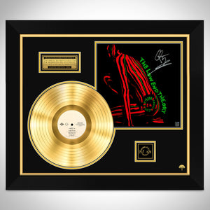 A Tribe Called Quest The Low End Theory Gold LP Limited Signature Edition Studio Licensed Custom Frame