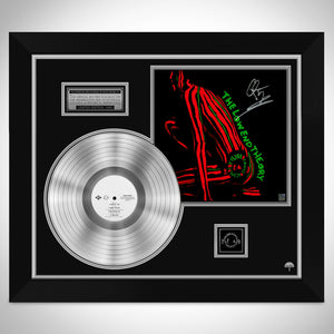 A Tribe Called Quest The Low End Theory Platinum LP Limited Signature Edition Studio Licensed Custom Frame