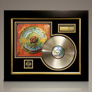 Grateful Dead - 'American Beauty' Hand-Signed Album by Band Members Gold LP Custom Frame
