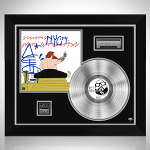 Action Bronson - Mr. Wonderful Limited Signature Edition Studio Licensed Platinum LP Custom Frame