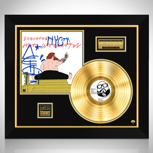 Action Bronson Mr. Wonderful Gold LP Limited Signature Edition Studio Licensed Custom Frame