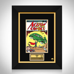 Action Comics #1 Limited Signature Edition Comic Book Cover Art Custom Frame