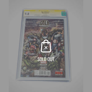 Cgc Signature Edition 'Age Of Ultron #1-9.8 Handsigned By Stan Lee'