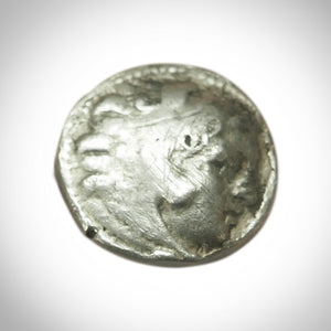 Silver Coin - Alexander The Great Ancient Greek Silver Coin 336-323 BC Custom Museum Display.