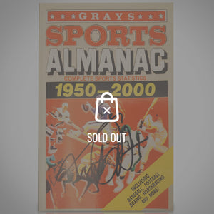 Back To The Future - Grays Sports Almanac 1950-2000 Hand-Signed By Michael J Fox