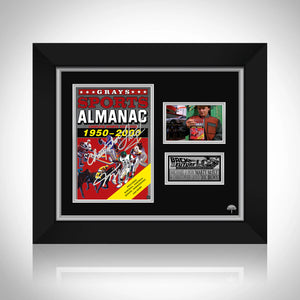 Back to the Future- 'Sports Almanac' Limited Signature Edition Studio Licensed Photo Custom Frame