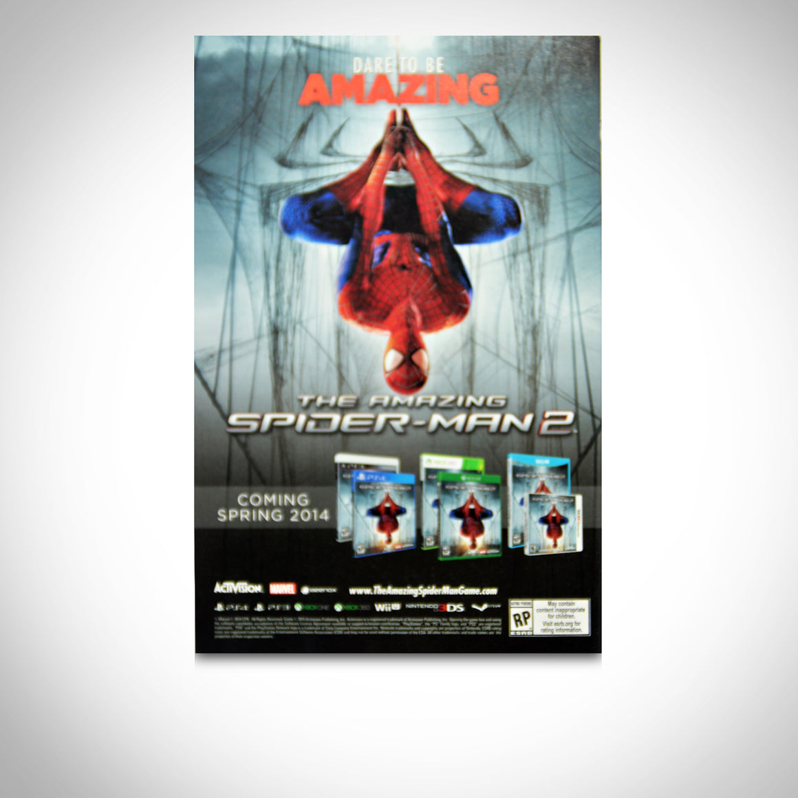 'AMAZING SPIDERMAN VARIANT #1 - HANDSIGNED BY DAN SLOTT' Comic Book