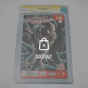 Cgc Signature Edition 'Amazing Spiderman #1 -9.8 Handsigned By Stan Lee'