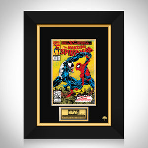 Amazing Spider-Man #375 - Stan Lee Limited Signature Edition Licensed Comic Book Cover Art Custom Frame