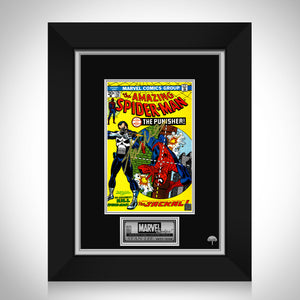 The Amazing Spider-Man #129 - Stan Lee Limited Signature Edition Licensed Comic Book Cover Art Custom Frame
