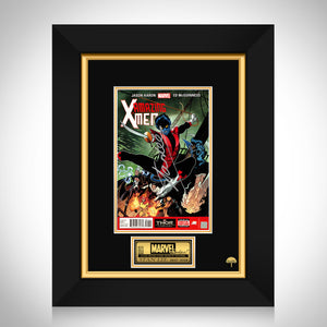 X-MEN Amazing X-MEN 1st Issue Hand-Signed Comic Book by Stan Lee Custom Frame