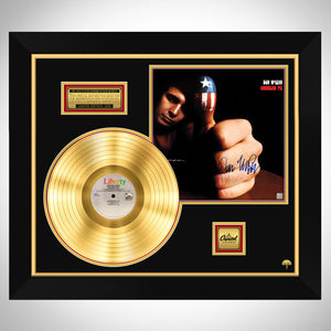Don McLean American Pie Limited Signature Edition Studio Licensed Gold LP Custom Frame