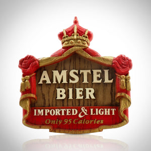 Amstel Crown-Imported Bier Vintage Bar Display/Advertisement