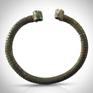 Authentic Bronze Viking Fibula From 700-1000 Ad Custom Museum Display