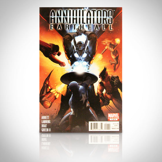 'ANNIHILATORS EARTHFALL #1 - HANDSIGNED BY JOHN TYLER CHRISTOPHER' Comic Book