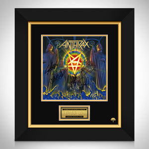 Anthrax - For All Kings Limited Signature Edition Studio Licensed LP Cover Custom Frame