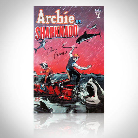 'ARCHIE VS SHARKNADO #1 - HANDSIGNED BY DAN PARENT' Comic Book