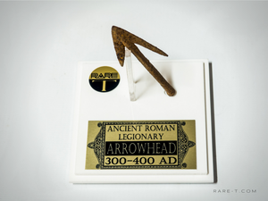 RARE-T Exclusive 'ROMAN ARROWHEAD 300-400 AD' Museum Display
