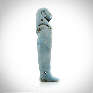 Sons of Horus - Ancient Egyptian Set of 4 Faience Sons of Horus Amulets Custom Museum Display