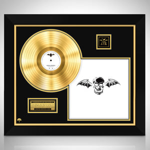 Avenged Sevenfold 'Avenged Sevenfold' Limited Collectors' Edition Licensed Gold Lp Custom Frame