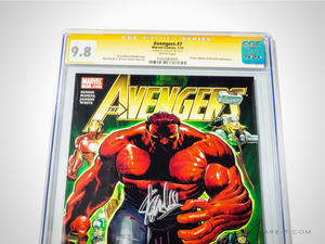 CGC Signature Series 'AVENGERS #7-9.8 HANDSIGNED BY STAN LEE'